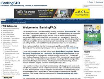 ibankingfaq.com screenshot