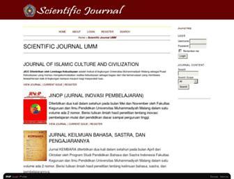 ejournal.umm.ac.id screenshot