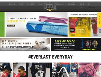 everlast.com screenshot