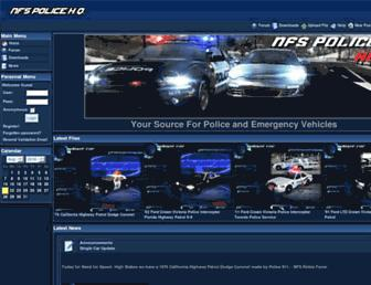 nfspolicehq.com screenshot