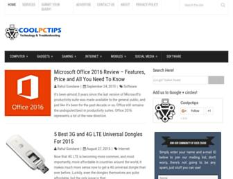 Thumbshot of Coolpctips.com