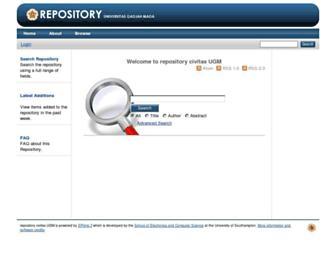 repository.ugm.ac.id screenshot