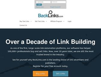 Thumbshot of Backlinks.com