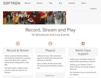 softron.tv screenshot