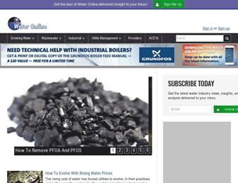wateronline.com screenshot