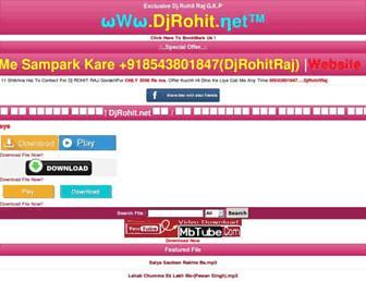 djrohit.net screenshot