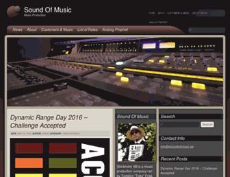 soundofmusic.se screenshot