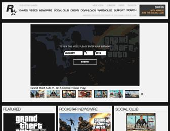 rockstargames.com screenshot