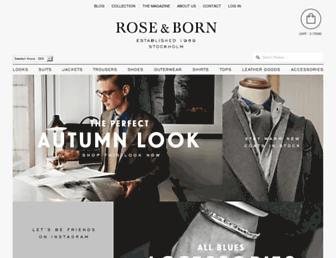roseborn.com screenshot