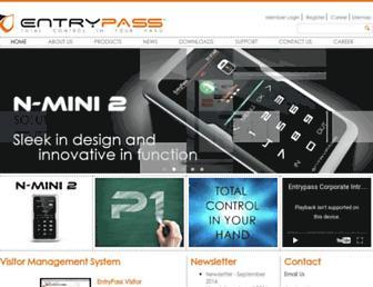 entrypass.net screenshot