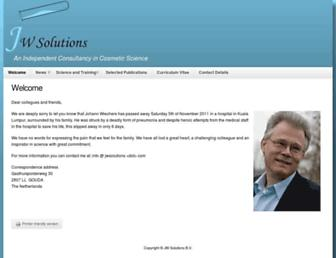 jwsolutions.com screenshot
