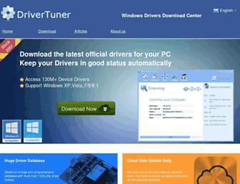official-drivers.com screenshot