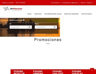 Thumbshot of Airpanama.com