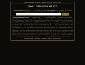 musik.senjapagi.com screenshot