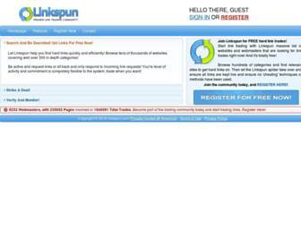 Thumbshot of Linkspun.com