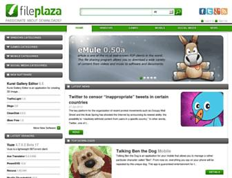 fileplaza.com screenshot