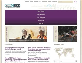 acdivoca.org screenshot
