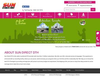 Thumbshot of Sundirect.in