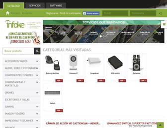 infoke.com.uy screenshot