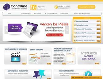 contaline.cl screenshot