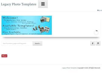 legacyphototemplates.com screenshot
