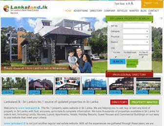 Thumbshot of Lankaland.lk