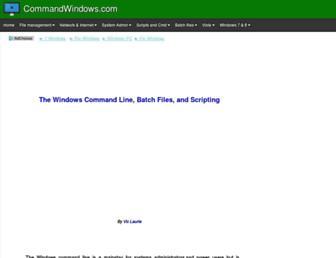 commandwindows.com screenshot
