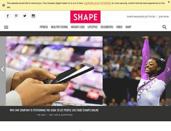 Thumbshot of Shape.com