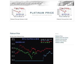 Thumbshot of Platinumprice.org