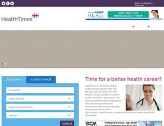 healthtimes.com.au screenshot