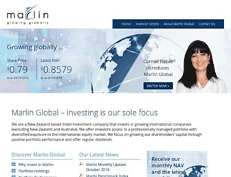 marlin.co.nz screenshot