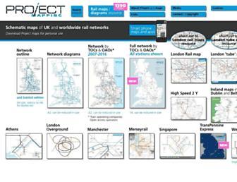 projectmapping.co.uk screenshot