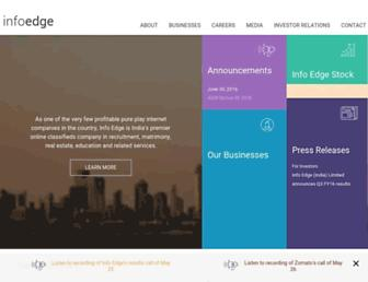 Thumbshot of Infoedge.in