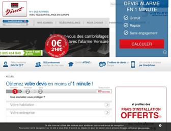 Thumbshot of Securitasdirect.fr
