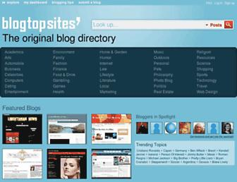 Thumbshot of Blogtopsites.com