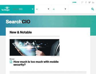 searchcio.techtarget.com screenshot