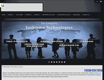sysbiome.com screenshot