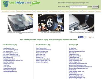 cars.costhelper.com screenshot