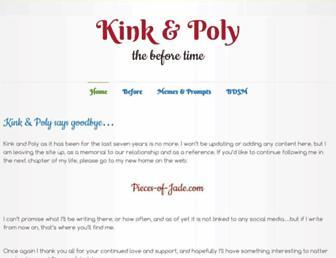 Screenshot for kinkandpoly.com