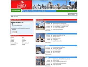hotelsonline.com screenshot