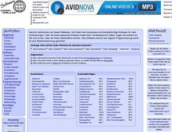 coder-world.de screenshot