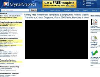 crystalgraphics.com screenshot