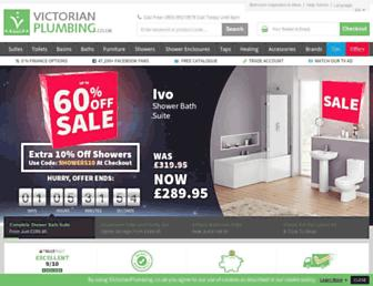 victorianplumbing.co.uk screenshot