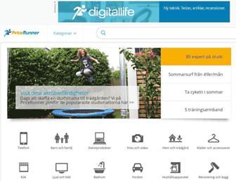 pricerunner.se screenshot