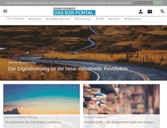 marconomy.de screenshot