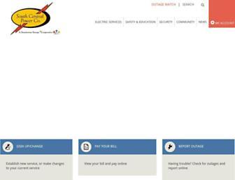 southcentralpower.com screenshot