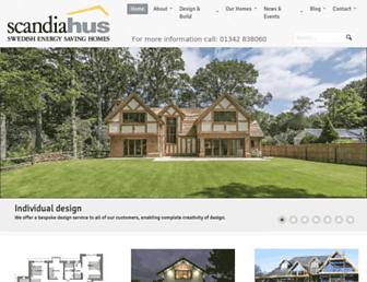 scandia-hus.co.uk screenshot