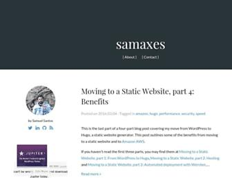 Thumbshot of Samaxes.com