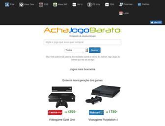 achajogobarato.com.br screenshot