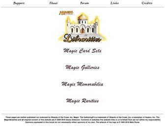 magiclibrarities.net screenshot